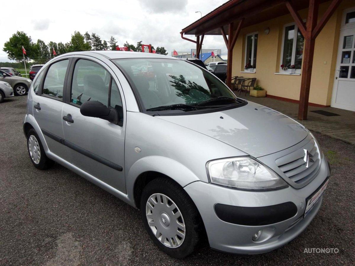 Citroën C3, 2005 - celkový pohled