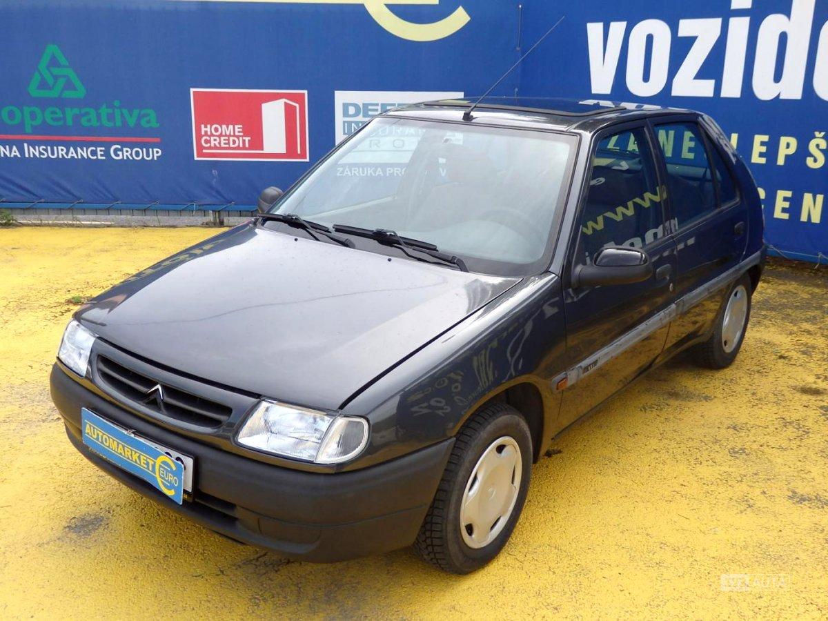 Citroën Saxo, 1997 - celkový pohled
