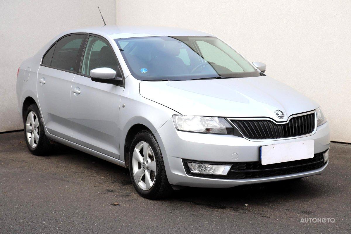 Škoda Rapid, 2013 - celkový pohled
