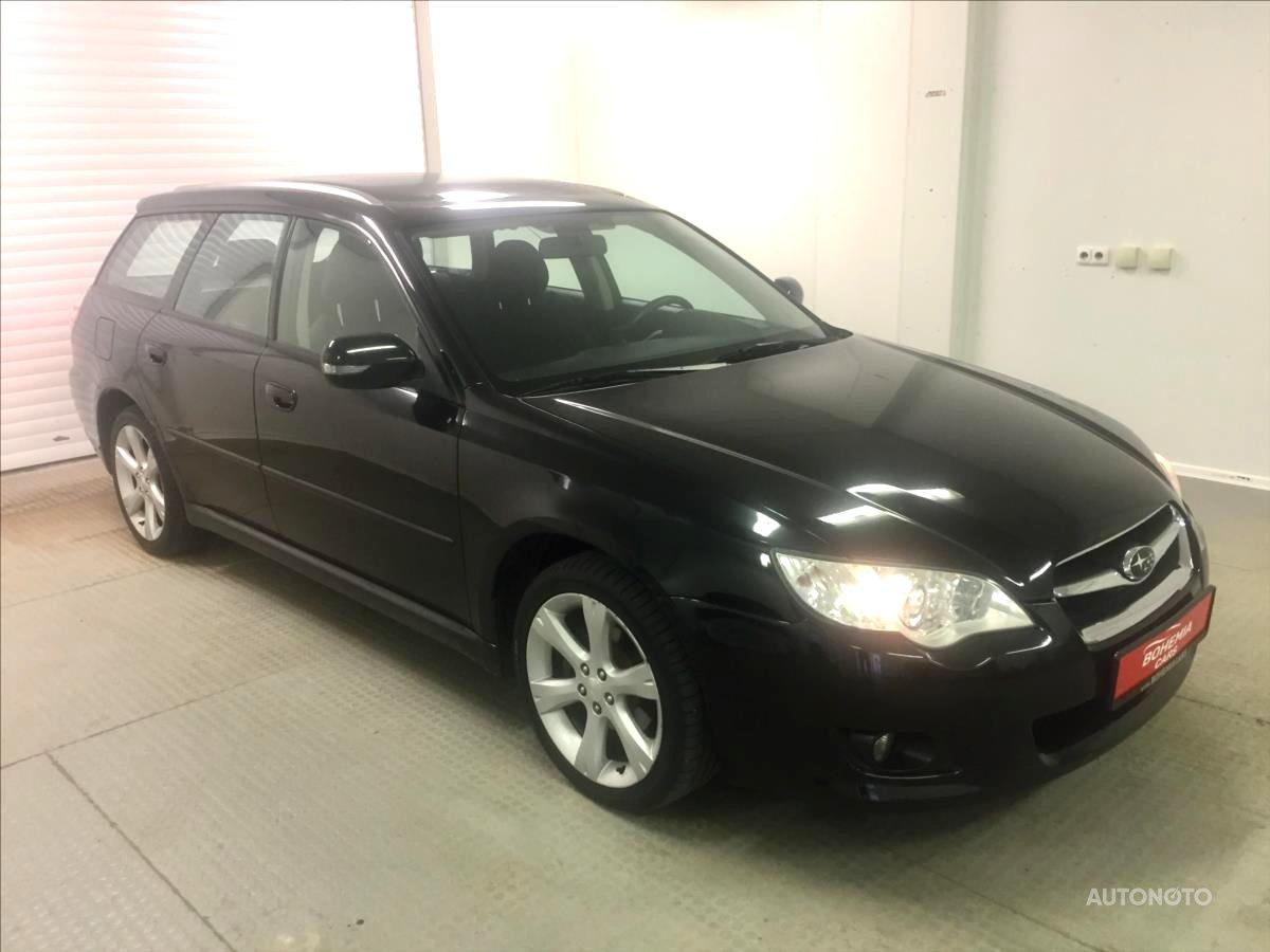 Subaru Legacy, 2008 - celkový pohled