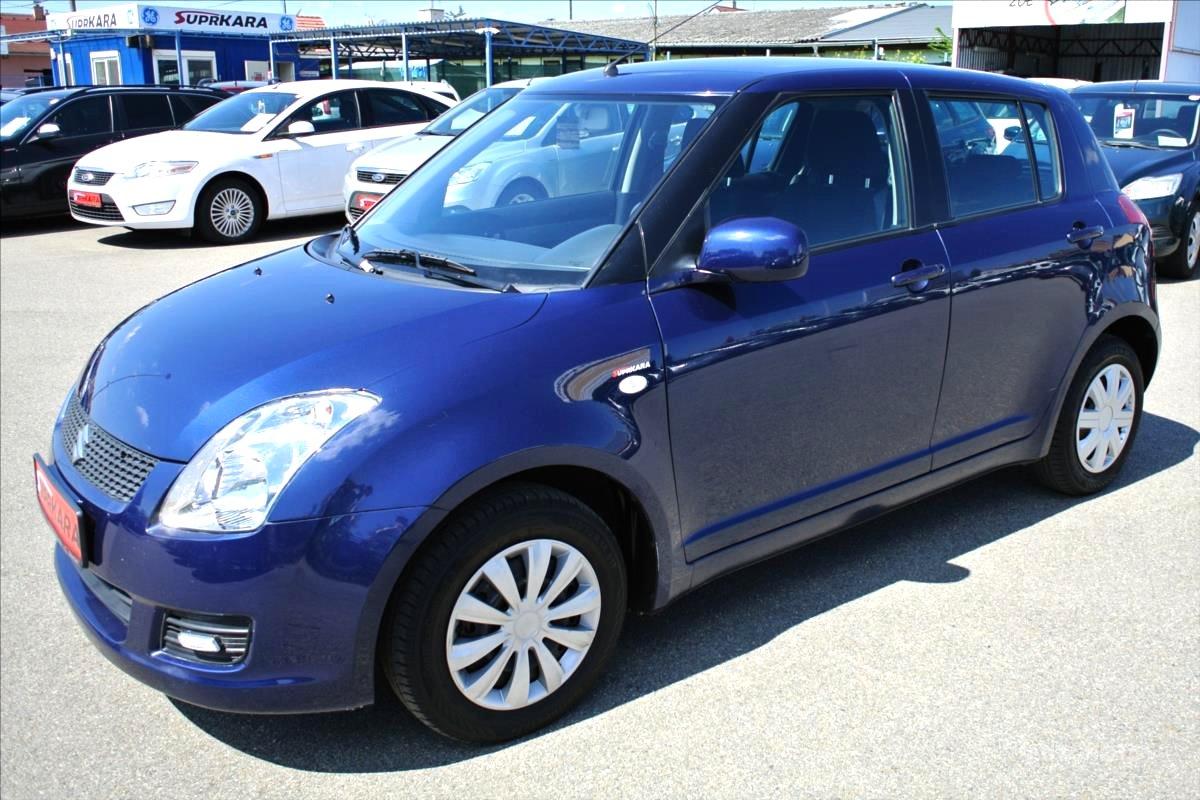 Suzuki Swift, 2009 - celkový pohled