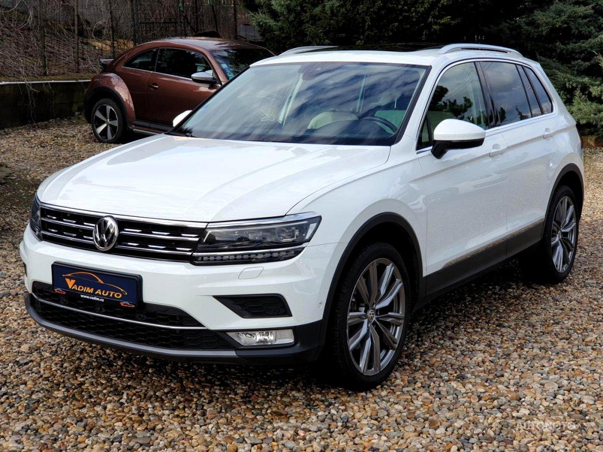 Volkswagen Tiguan, 2017 - celkový pohled